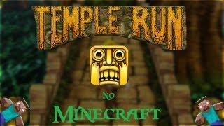 Temple Run no Minecraft ?! (Mapa na descrição)