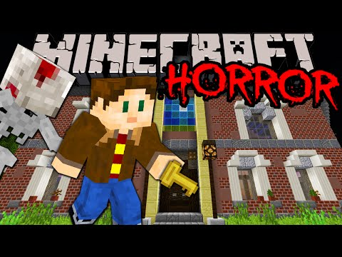 Minecraft 1.8: Amazing Horror Map! --- Scary Haunted House Adventure...