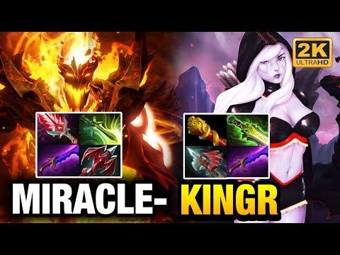 Miracle- Shadow Fiend vs KingR Drow Ranger - Just 1 Mistake Dota 2
