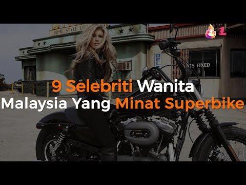 9 Selebriti Wanita Malaysia Yang Minat Superbike