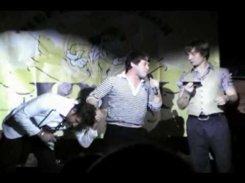 Чёрный КВН 2008 - Станция Спортивная - Часть 1 из 4