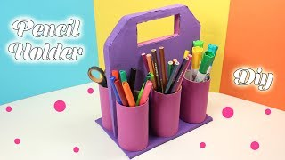 Foam Sheet Pencil Holder - Easy School Supplies - DIY