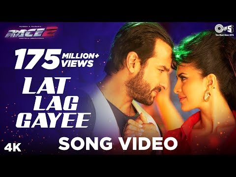 Lat Lag Gayee - Race 2 - Official Song Video - Saif Ali Khan &amp; Jacqueline Fernandez
