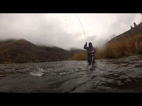 Steelhead Fishing - Deschutes River 2012 - GoPro - Hookedonlife.net