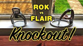 Rok vs Flair Espresso Maker - KNOCKOUT!