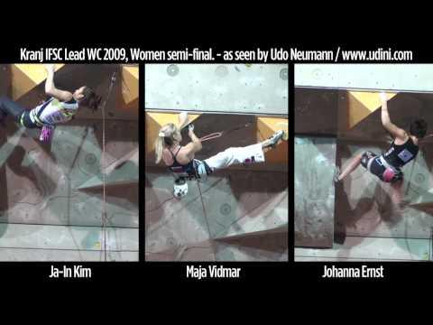 Kranj climbing WC 2009 women semifinals