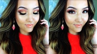 Warm Summer Makeup Tutorial | Gold & Apricot