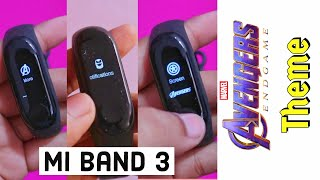 Mi Band 3 Avengers Endgame Theme with New Features | How to Install | Hindi/Urdu