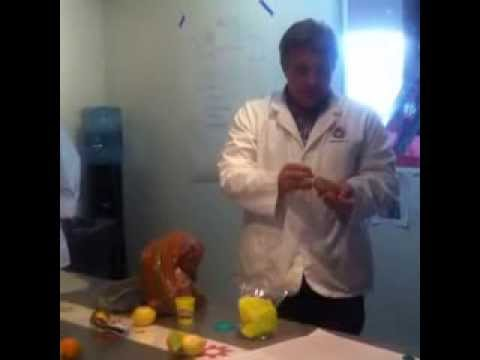 Robot Doctor shows how to make a potato battery!