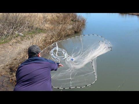 Casting fishing nets