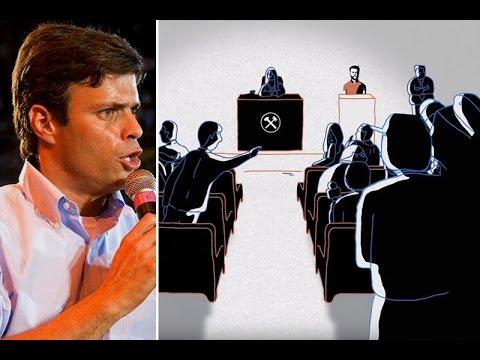 Audio de la declaración de Leopoldo López el día que fue condenado