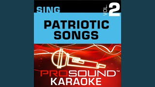 God Bless America Karaoke Instrumental Track In The Style Of Leann Rimes