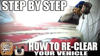 How To RE CLEAR a Vehicle STEP BY STEP w/ ALLKANDY  PT. 1