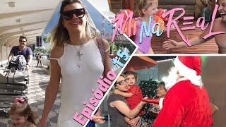 MiNa Real | Valentina conhece o Papai Noel e visita a vovó Alba | Episódio 15
