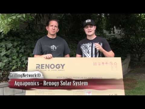 Aquaponics BackYard System - Renogy Solar System (Off the Grid)