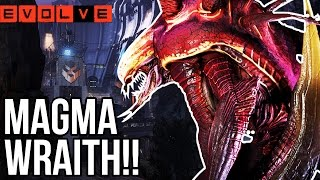MAGMA WRAITH!! Evolve vs. Hard Hunters - Evolve Gameplay Walkthrough - Part 18!! (XB1 1080p HD)