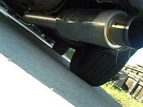 Starion Exhaust