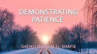 Demonstrating Patience - Sheikh Ibrahim El-Shafie