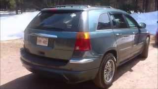 2006 Chrysler Pacifica Limited Walk around. MUV
