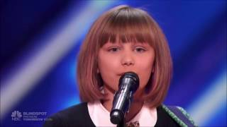 Grace VanderWaal: WINNER America's Got Talent 2016 - ALL PERFORMANCES (HD)