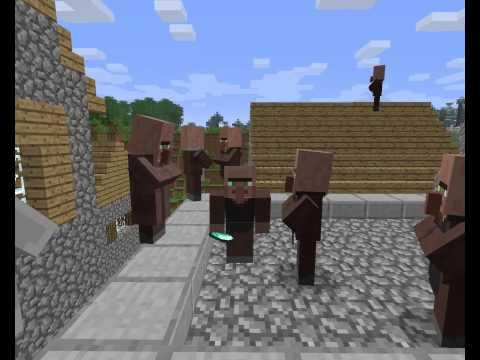 Первоапрельский день в Minecraft