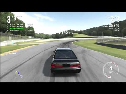 forza 4 fox body mustang drifting youtube. Black Bedroom Furniture Sets. Home Design Ideas
