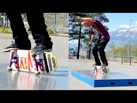 THE SKATEBOARD TRICK YOU'VE NEVER SEEN BEFORE