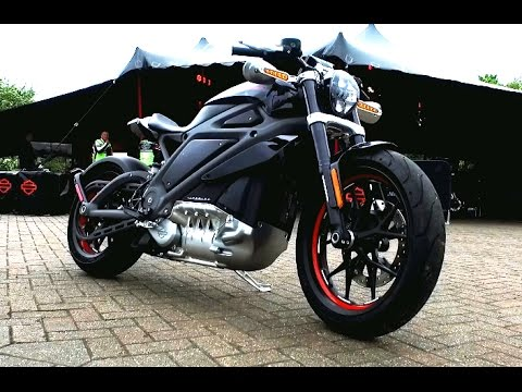 Harley Davidson Livewire First Ride (Bike World)