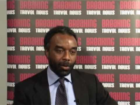 Vincent Vanderpool-Wallace, Secretary General, Caribbean Tourism Organisation @ WTM 2007