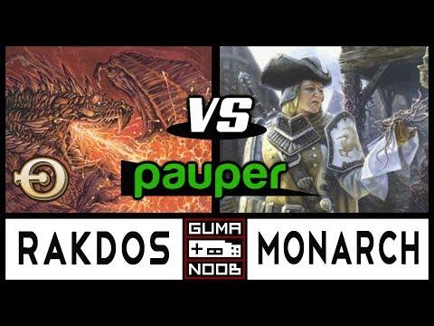 Pauper - RAKDOS CONTROL vs BOROS MONARCH