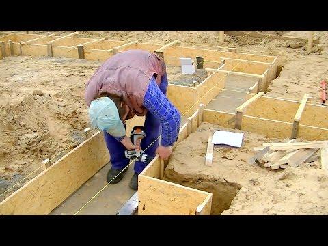 Budowa domu krok po kroku. Dzień 2 -Szalunki fundamentu. Kurs DVD link pod filmem