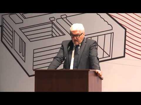 Vortrag von Dr. Frank-Walter Steinmeier, Außenminister, Deutschland