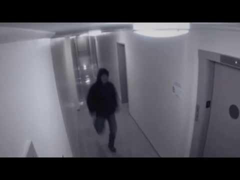 Fantasma ataca a un Hombre (Cámara de Seguridad lo capta)