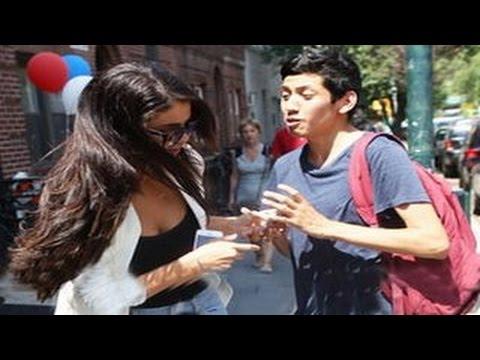 Selena Gomez Snatches a Fan's Phone to take a Selfie & Shocks the Fan thumbnail