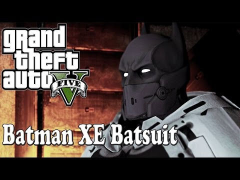 Batman XE Batsuit