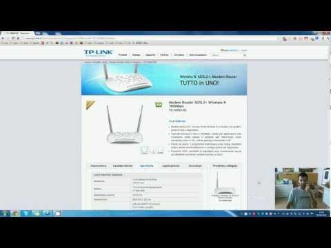 Configurazione Base Internet e Wireless Modem TP-Link TD-W8961ND