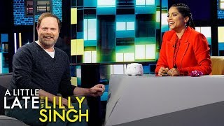 Rainn Wilson Gives Lilly a Unique Gift