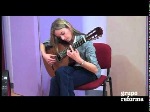 La guitarrista Ana Vidovic