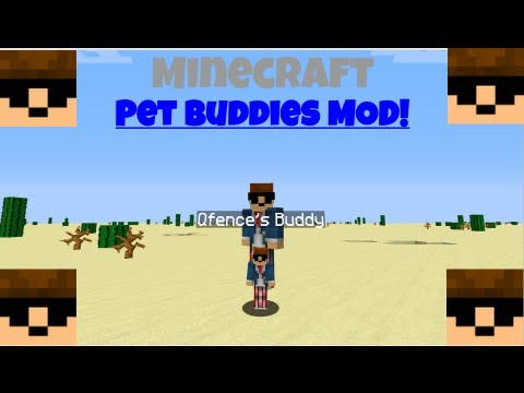 How To Install Minecraft Pet Buddies Mod 1.5.2!