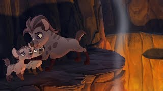 Lion Guard: Saving Jasiri! | Rescue in the Outlands HD Clip