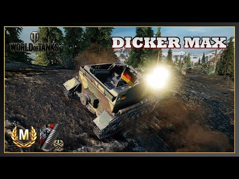 World of Tanks // Dicker Max // Ace Tanker // 3 Marks of Excellence // Xbox One