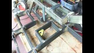 Tracked vehicle frame construction Part 1