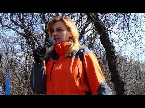 Якщо зараз не зупинити цей режим, то олігархи розділять Україну, ‒ Марія Чашка на Марші сили нації