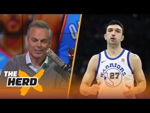 Colin reacts to the NBA not punishing Zaza after his incident with Westbrook | THE HERD