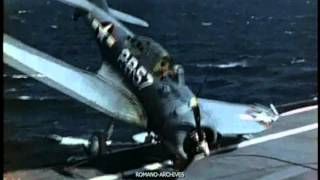 1944 US Carrier - Wrong Landings in HD!