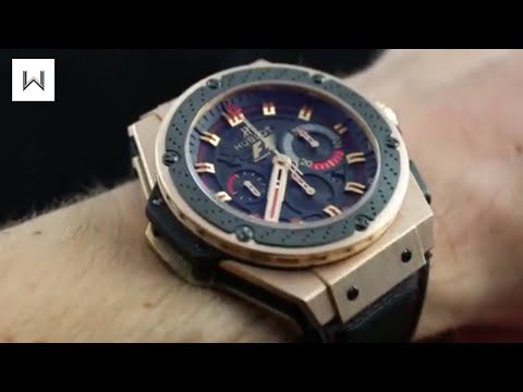 Hublot King Power F1 Shanghai Grand Prix Luxury Watch Review