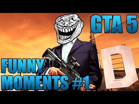 GTA 5 - Funny Moments #1 (Dog-Sex, Weed, Human Flying, Bodybuilders)