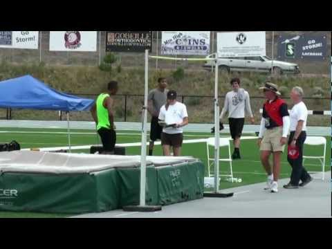 "Dakarai Hightower High Jumping 7' 2 1/2"" & 7' 2"" Track City"