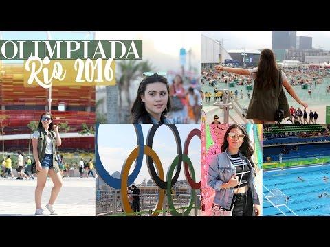 OLIMPÍADA RIO 2016!  (Vlog)  | Lorrine Mondin