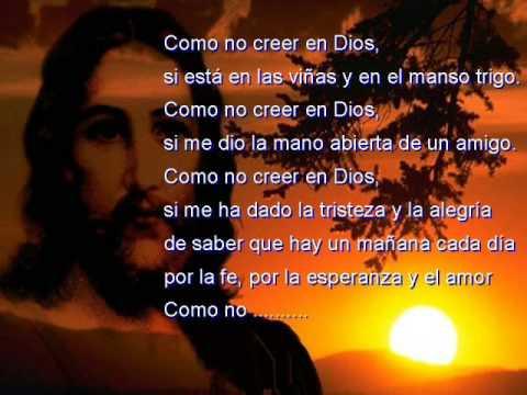 COMO NO CREER EN DIOS - WILKINS (M ÚSICA Y LETRA)